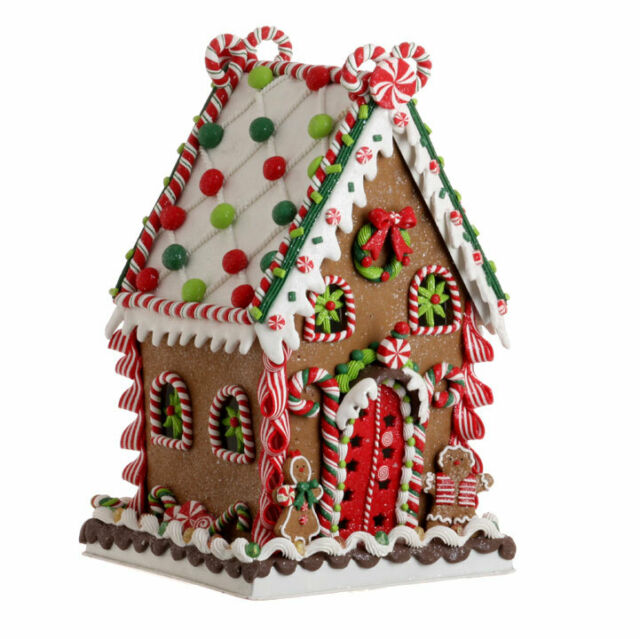 Raz Imports 13 5 Gingerbread House Christmas Decor 3116172 New
