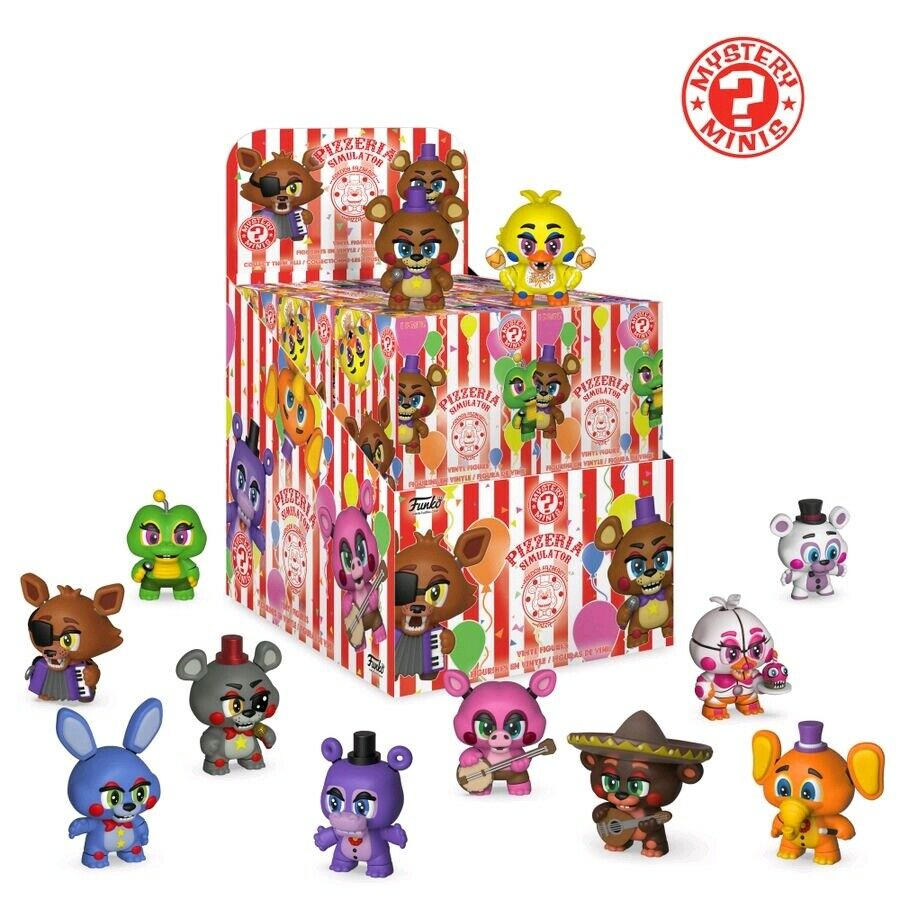 FUNKO -  Five Nights at Freddy's  Pizza Sim - Mystery Minis Blind Box Set of 12