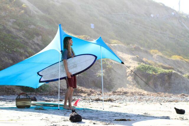 Grande Beach Sun Shelter Portable Tent Tarp Canopy for Outdoors Camping Park