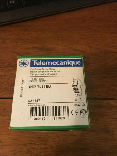 New RE7 TL11BU  RE7TL11BU Schneider Electric Zelio Delay Timer Relay