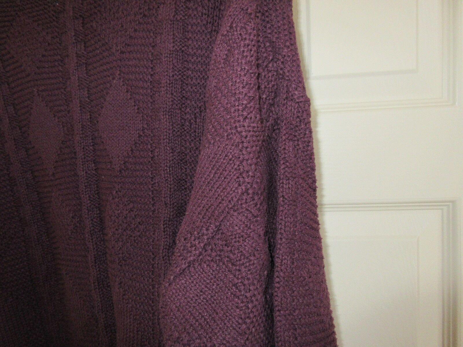 Mens Sweater , FERRAR , L , Purple , 100% Cotton , Preo