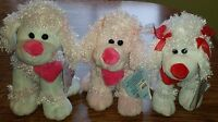 Stuffed Animal Dog Poodle Plush Valentines/anniversary Gift Cute love You Toy