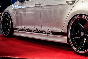 RSV2 Seitenschweller Schweller Sideskirts ABS für Audi TT 8N