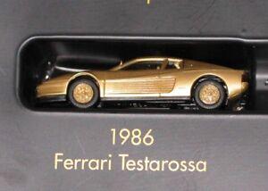HERPA-1-87-FERRARI-TESTAROSSA-1986-DORADA-SERIE-MODELO-TOP