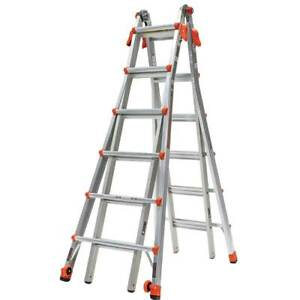 Little Giant Model 17 Fast Setup Light Weight Stable Type 1A Velocity Ladder