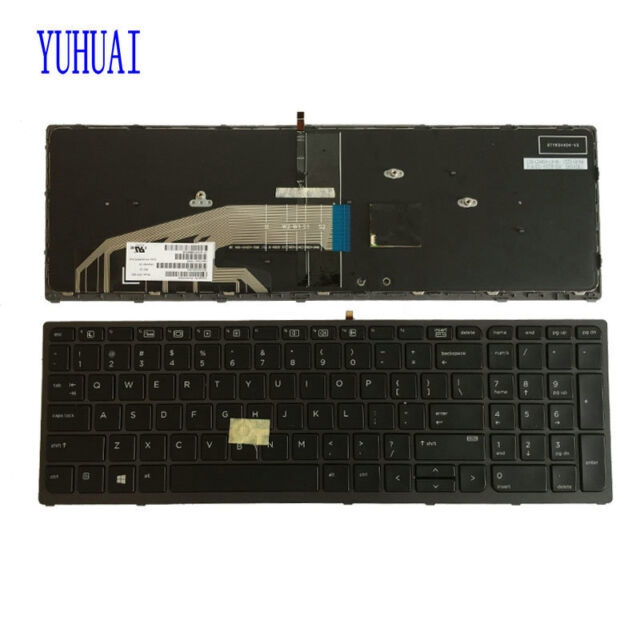 FOR HP ZBOOK 17 KEYBOARD Mouse Pointer backlit