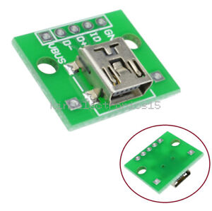 10PCS Type A Female USB To DIP 2.54MM PCB Board Adapter Converter For Arduino