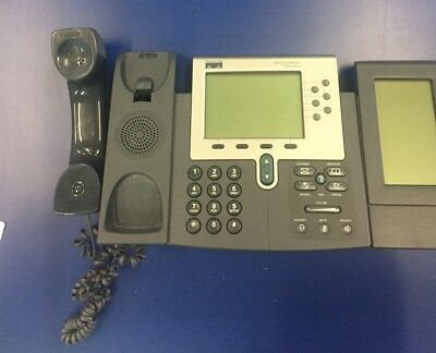 Used Cisco ip phone 7961 Series with 1 Cisco IP 7914 Extension Module