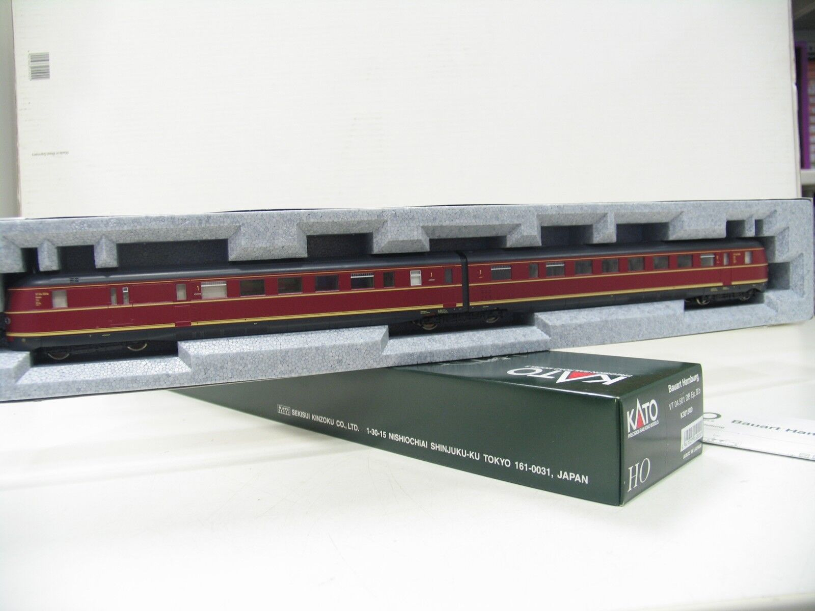 Kato 301500 DMU VT 04 Red DB DB wm60