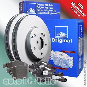 ATE-Bremsenset-2-Bremsscheiben-4-Bremsbelaege-z-B-VW-Golf-VI-280mm-VORN-belueftet