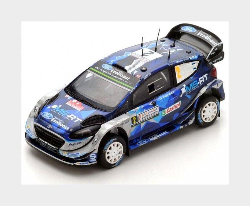 Ford Fiesta  Wrc  2 Winner Rally  2017 Tanak Jarveoja SPARK 1 43 S5167  nouvelle exclusivité haut de gamme