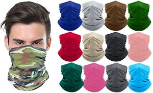 Moisture-Wicking-Breathable-Stretch-Fabric-Gaiter-Mask-Scarf-Bandana-Colors-New