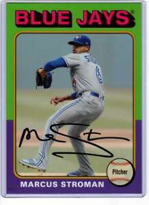 Marcus Stroman 2019 Topps Archives 5x7 Gold #137 /10 Blue Jays