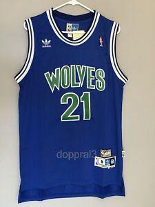Image is loading NWT-Kevin-Garnett-21-NBA-Minnesota-Timberwolves-Swingman- 1d377d930