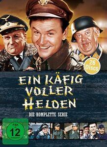 ROBERT-CLARY-BOB-CRANE-JOHN-BANNER-EIN-KAFIG-VOLLER-HELDEN-BOX-26-DVD-NEU