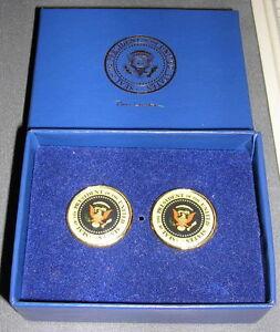 Clinton-Presidential-Seal-Cufflinks