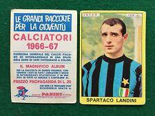 CALCIATORI 1966/67 66/1967 INTER Spartaco LANDINI Figurina Sticker Panini (NEW)