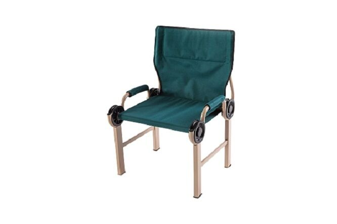 Disc o bed Chair verde exterior camping silla US Army Military ocio verde