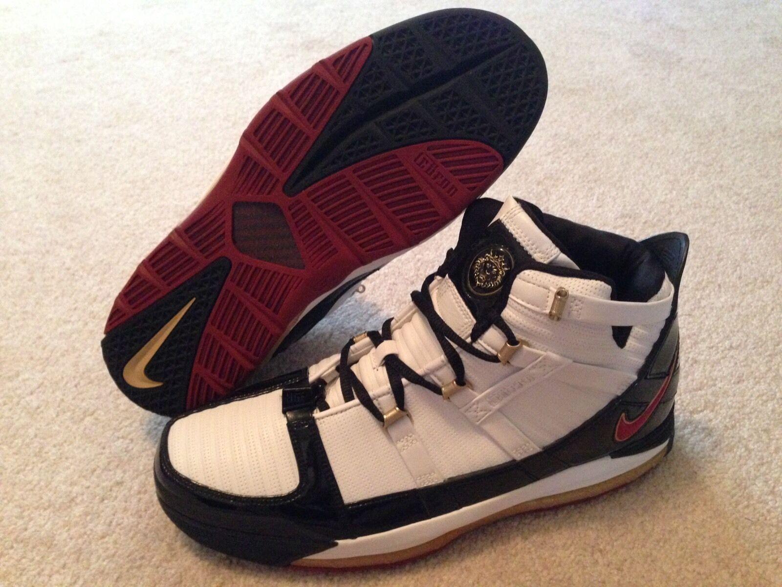 Nike Lebron 3 Black Remix PE Sz 11 Rare Promo Sample