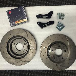 Front Brake Caliper Adapter Kit 324mm Nissan R32 GTR (Brake pads Not Included)