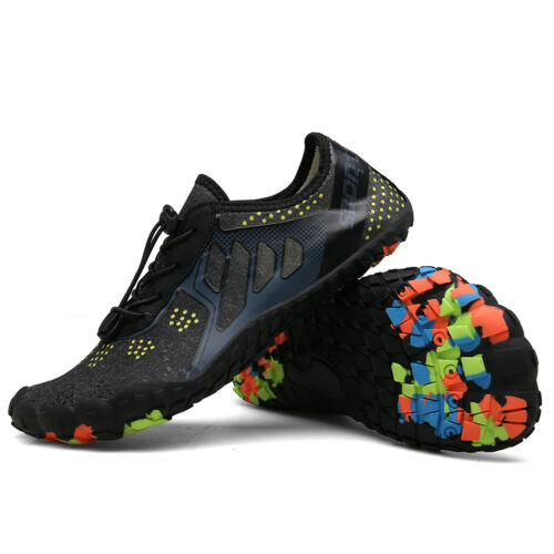 Mens Water Shoes Quick Dry Aqua Beach Wetsuit Swim Diving Surf Sports Sandals UK