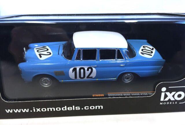 IXO models 1/43 MERCEDES-BENZ 300 SE WINNER 24H SPA 1964 N°102