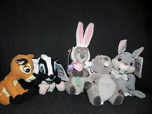 Awesome Details About The Disney Store Beanie Baby Bean Bag Bambi Flower Thumper Gopher Mini Lot 5 Customarchery Wood Chair Design Ideas Customarcherynet