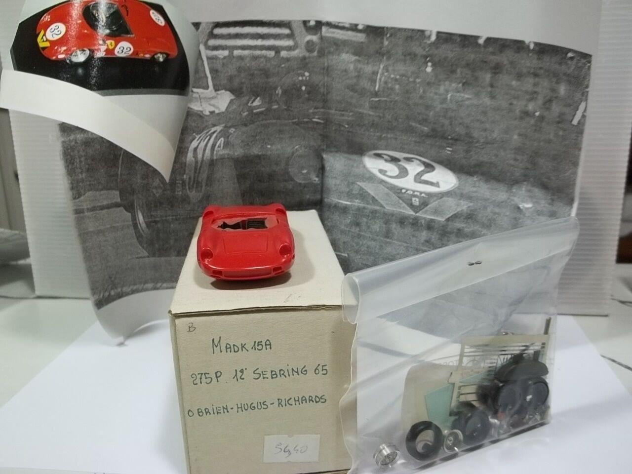 Mad models,kit sc ferrari 275p 12h di sebring 1965