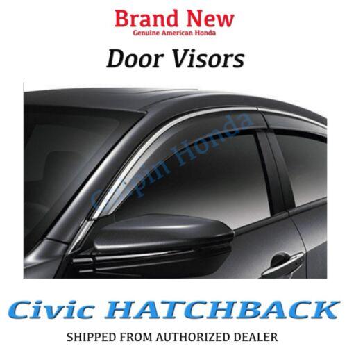 Genuine OEM Honda Civic Hatchback LX EX EXL Door Visor Kit 2017 EX-L 5Dr Hatch