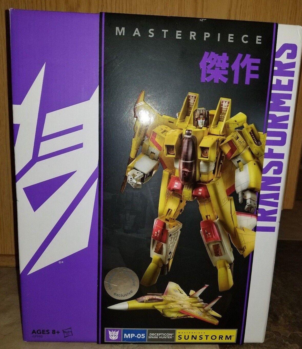Nuevo Sellado Transformers Masterpiece Sunstorm MP-05 figura de acción (debe haber)