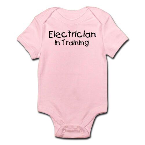 CafePress Electrician In Training Infant Bodysuit Baby Bodysuit 183009678