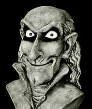 """HAUNTED Creepy Bust Statue""""EYES FOLLOW YOU"""" Halloween Mansion gothic prop"""
