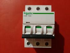 2P Schneider Electric A9F44263 Acti 9 IC60N 63a C Curve Miniature Circuit ...