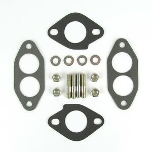 Details about VW Type 1 type 2 Weber ICT carburettor manifold gasket and  stud/nut kit T1FK