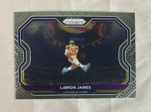 LeBRON JAMES - 2020 PRIZM NBA BASKETBALL #1 - KOBE TRIBUTE DUNK - LAKERS