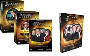 Murdoch Mysteries: The Complete Series Seasons 1-10 DVD Set - Brand New