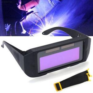 1pc Solar Auto Darkening Welding Helmet Eyes Goggle Welder Glasses For Work