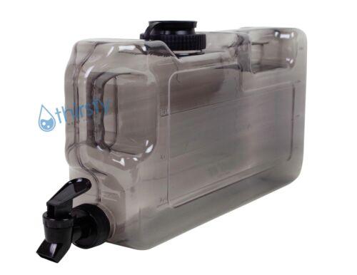 Gray BPA Free 1 Gallon Water Bottle Dispenser Faucet Reusable Container Jug New