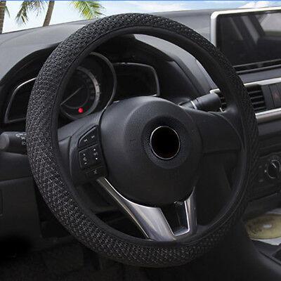 15/'/' Car Auto Steering Wheel Cover Microfiber Leather Breathable Anti-slip