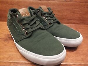 Green Uk 40 Eu 5 Casual 7 Canvas Trainers Vans Chapman 80Xv8R5