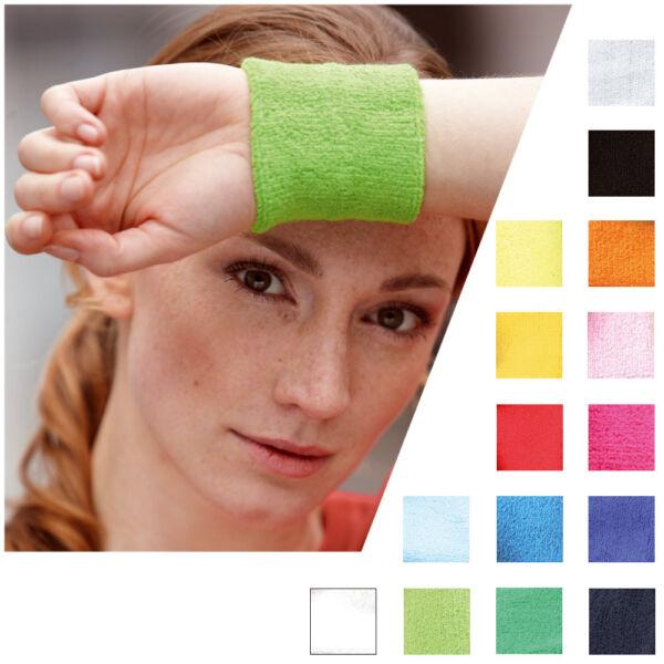 !mb 043 Sports Schweissband Wristband Armband Sport Schweißband 15 Farben