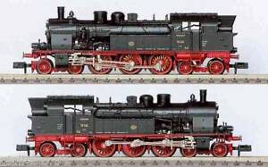 FLEISCHMANN-7817-VINTAGE-Lokomotive-Dampf-BR78-254-DRG-Rod-4-6-4-BOX-Leiter-n