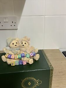 Anniversary Bears Treasured Pals Limited Edition Ornament. Number 141 Of 2000