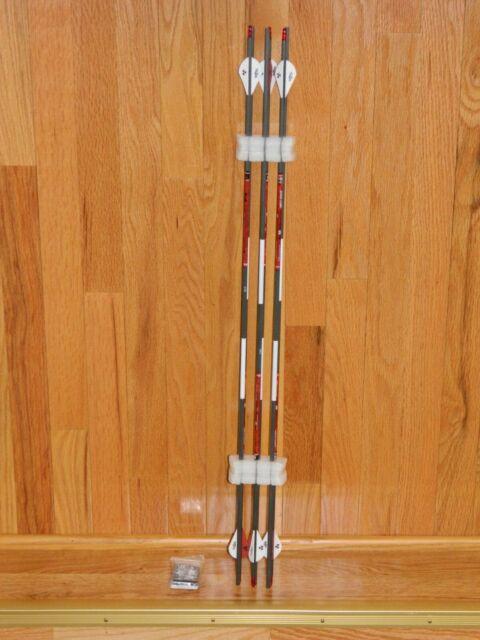 BloodSport Impact Hunter Carbon 350 Spine Arrows-10.2 GPI-Cut /& Insert Av NEW