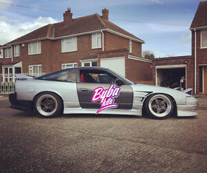 nissan s13 25mm front wings vented 180sx 200sx 240sx. Black Bedroom Furniture Sets. Home Design Ideas