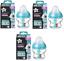 Tommee-Tippee-3x-Advanced-Anti-Colic-150ML-260ML-340ml-Bottles-W-MINI-BRRUSH thumbnail 3