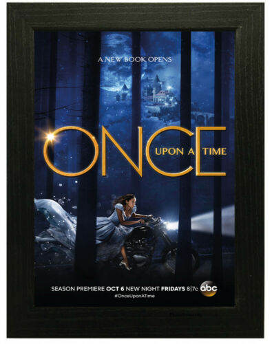 A3 A4 Sizes Once Upon a Time TV Show Poster or Canvas Art Print