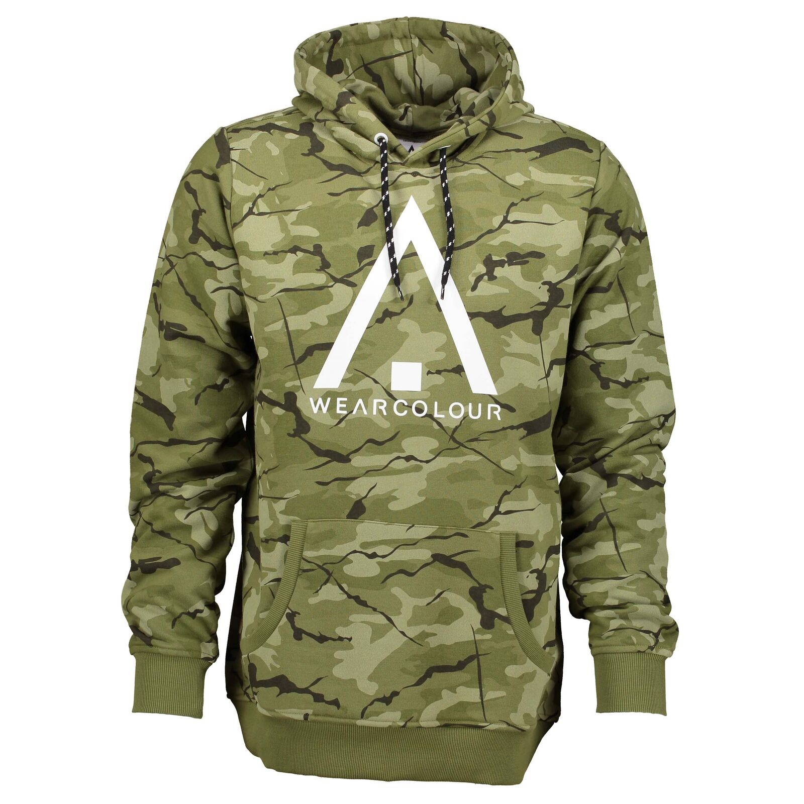 Wear Colour Mens Wear Hood Hoodie Forest