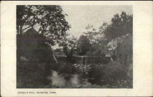 Abington-CT-Covell-039-s-Mill-c1910-Postcard