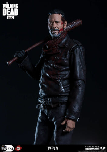 McFARLANE NEGAN THE WALKING DEAD TV EXCLUSIVE BLOODY Color Tops ACTION FIGURE